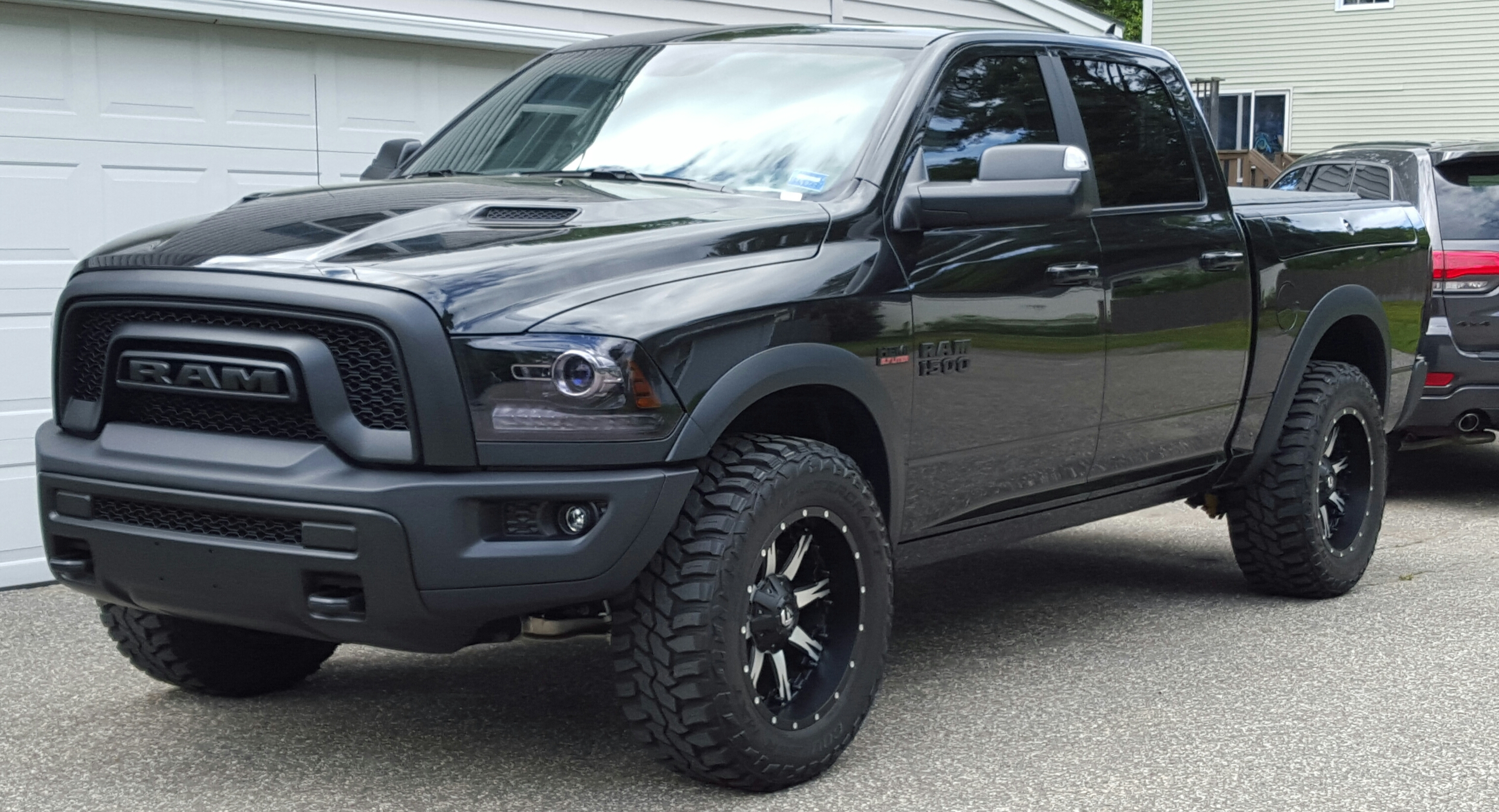 Blacked Out Ram >> Blacked Out A Few More Things Ram Rebel Forum
