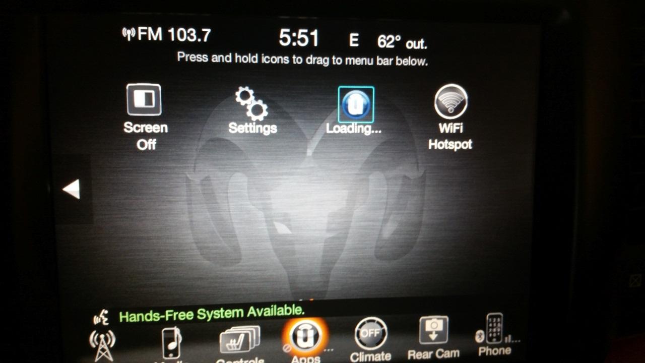 Uconnect has begun an OTA update 17 11 07 | Ram Rebel Forum