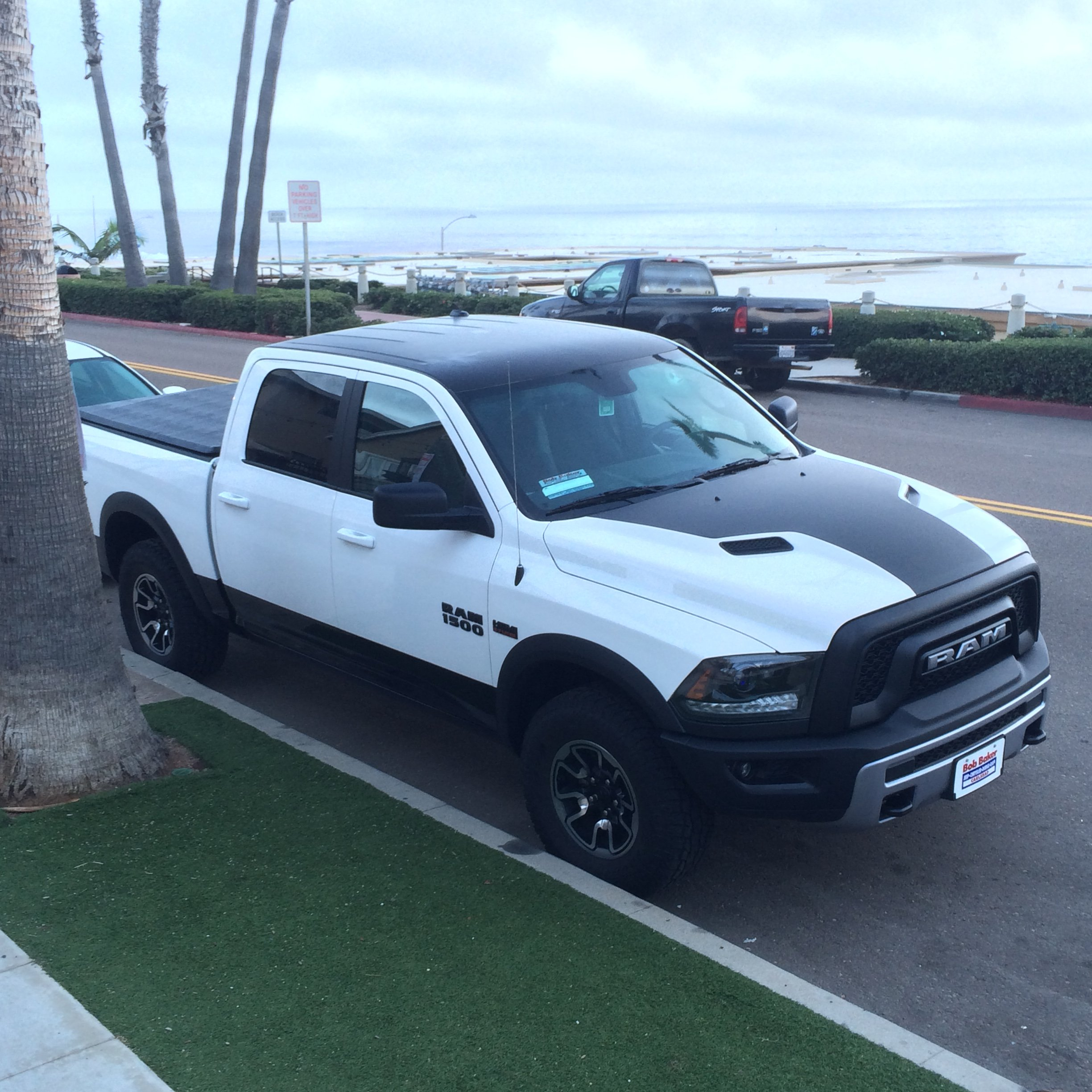 dodge trucks 2015 rebel. got my 2015 rebel hood and roof wrapped matte black gives it a whole new aggressive look ties in the grille badges dodge trucks